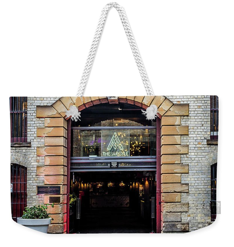 Door Weekender Tote Bag featuring the photograph Enter by Perry Webster