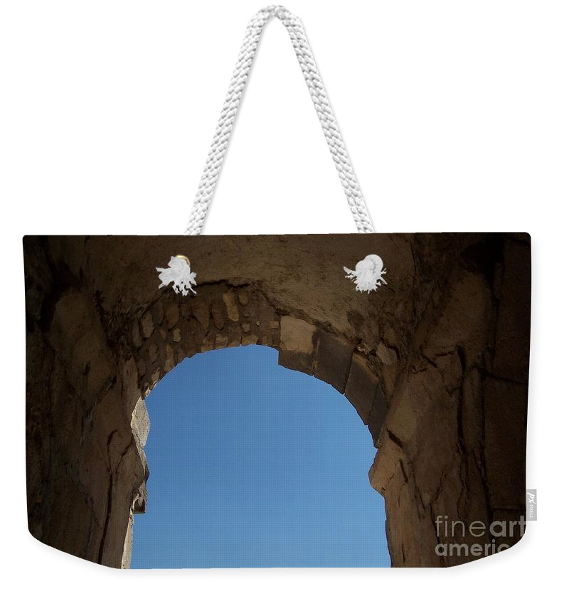 Arch Weekender Tote Bag featuring the photograph Entrada by Jennifer Diaz