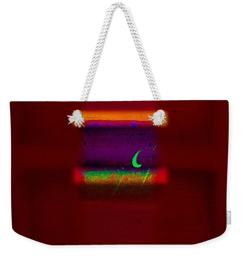 Rothko Weekender Tote Bag featuring the painting Entrance by Charles Stuart