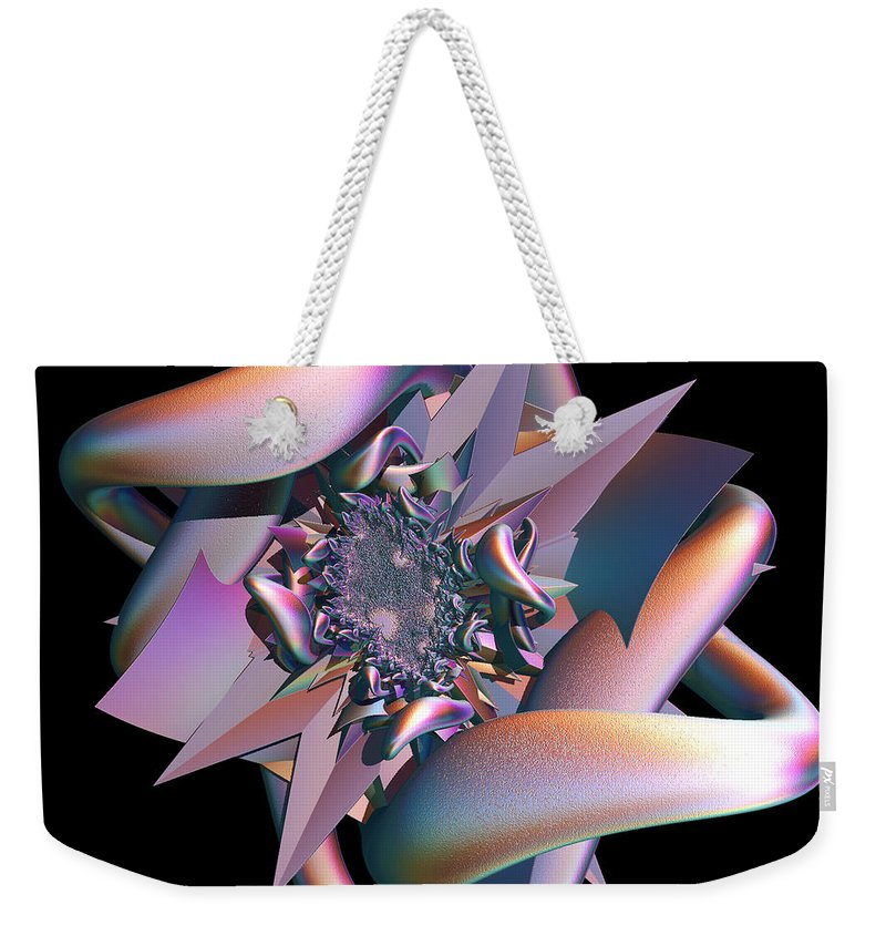 Star Weekender Tote Bag featuring the digital art Entrapped by Sara Raber