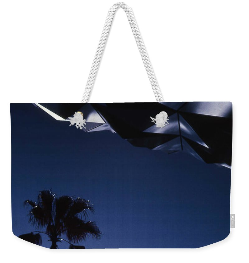 Epcot Weekender Tote Bag featuring the photograph Epcot Abstract by Richard Rizzo