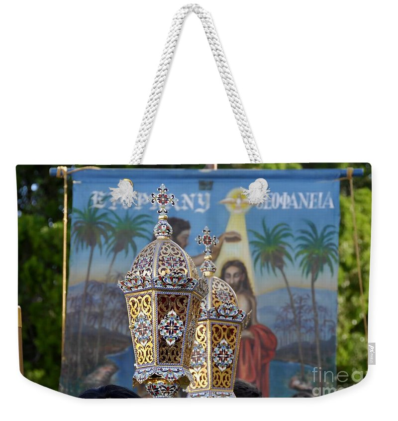 Epiphany Weekender Tote Bag featuring the photograph Epiphany Celebration by David Lee Thompson