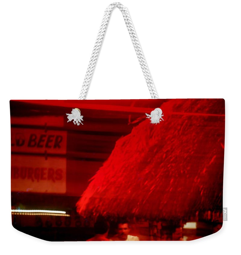 Ernesto's Weekender Tote Bag featuring the photograph Ernesto's by Stephen Anderson