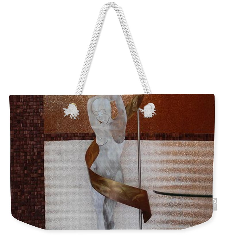 Statue Weekender Tote Bag featuring the photograph Erotic Museum Piece by Rob Hans