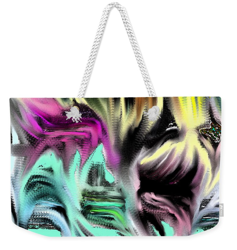 Hell Weekender Tote Bag featuring the photograph Escape From Hell by Ian MacDonald