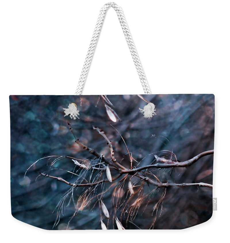 Dark Weekender Tote Bag featuring the photograph Escape From The Darkness by Ezo Oneir