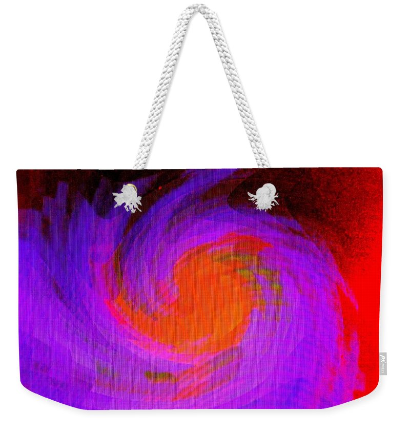 Abstract Weekender Tote Bag featuring the digital art Escape by Ian MacDonald