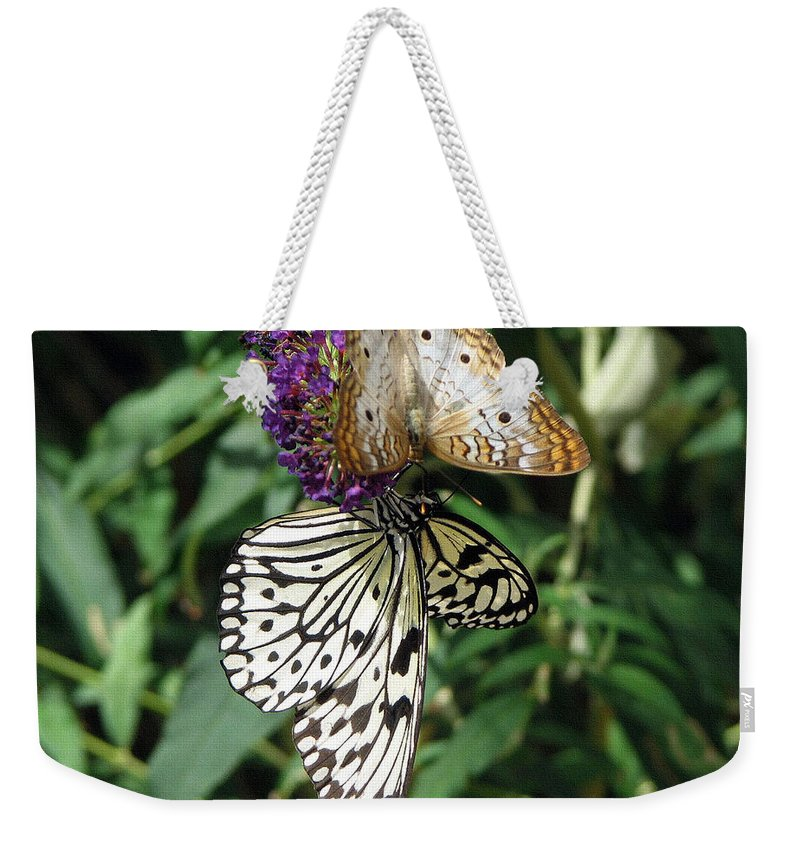 Ethereal Weekender Tote Bag featuring the photograph Ethereal by Lisa S Baker
