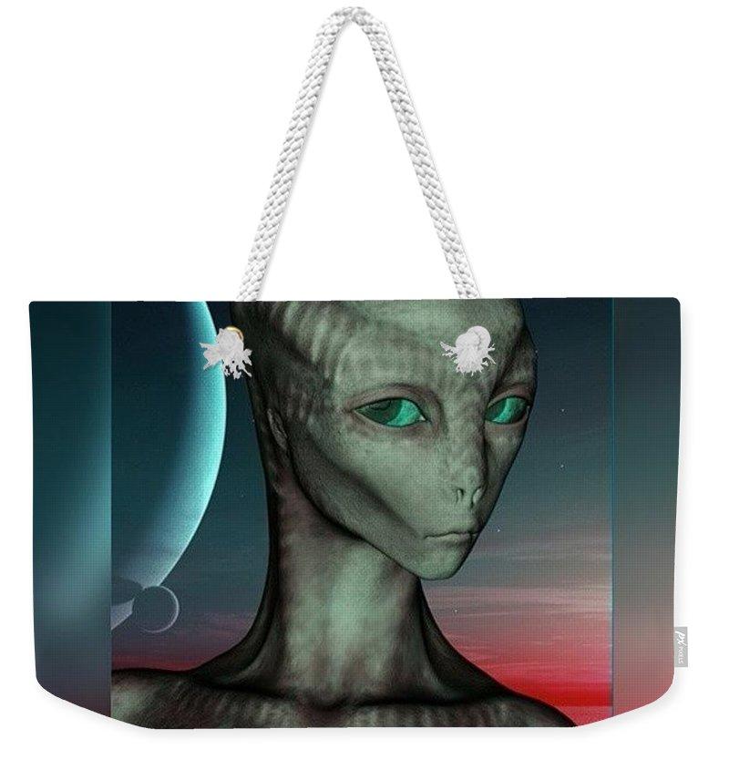 Science Fiction Weekender Tote Bags