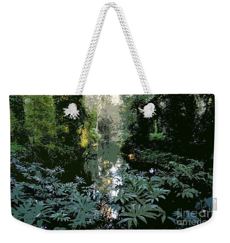 Spring Weekender Tote Bag featuring the painting Eureka Springs by David Lee Thompson