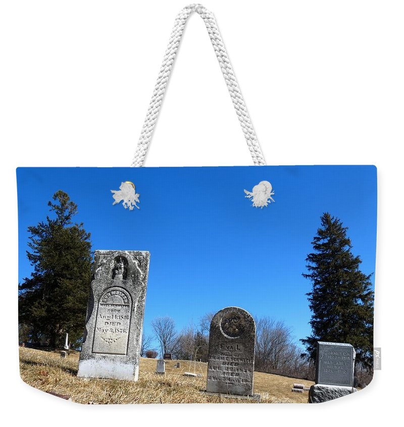 Nature Weekender Tote Bag featuring the photograph Eva L 1878 by Kyle West