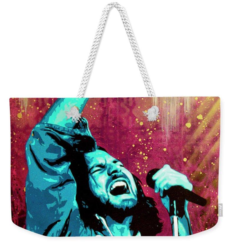 Pearl Jam Weekender Tote Bags