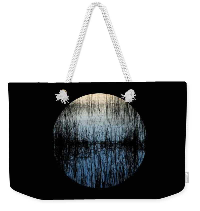 Lake Weekender Tote Bag featuring the photograph Evening Glow by Mary Wolf