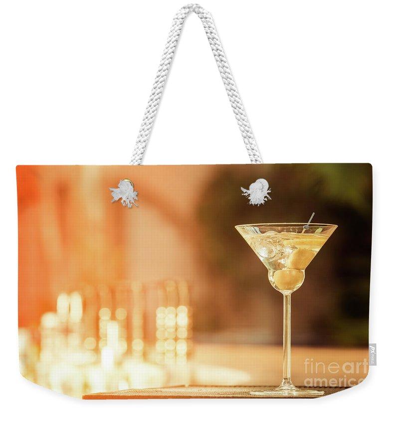 Martini Weekender Tote Bags