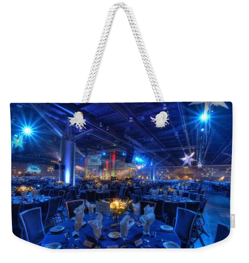 Special Event Photography Weekender Tote Bag featuring the photograph Event 1 by Doug Matthews
