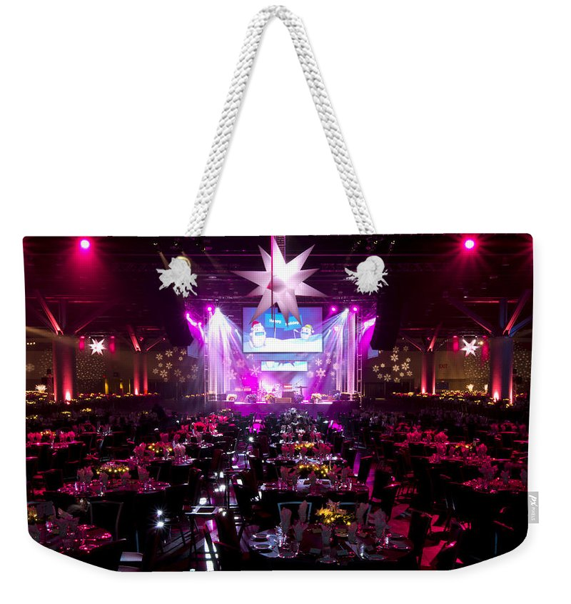 Special Event Photography Weekender Tote Bag featuring the photograph Event 3 by Doug Matthews