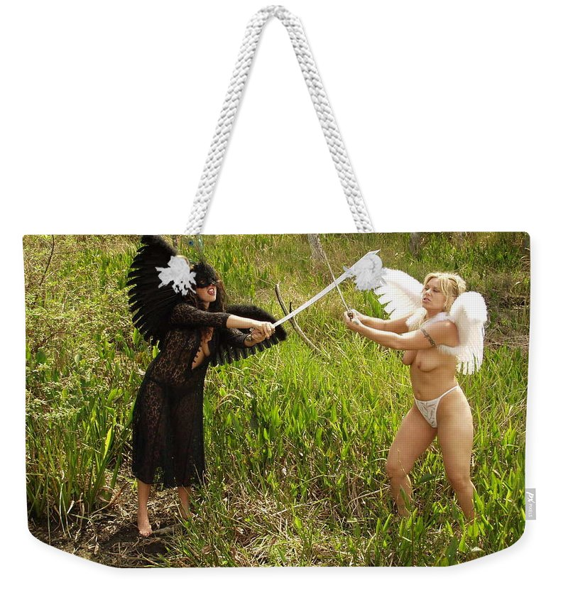 Everglades City Professional Photographer Everglades City Photographer Everglades City Glamour Everglades City Beauty Everglades City Photographer Lucky Cole Angels Sexy Exotic Natural Beauty Glamorous Environmental Portraits Female Natural Settings Exotic Beauty Wildlife Weekender Tote Bag featuring the photograph Everglades City Glamour 153 by Lucky Cole
