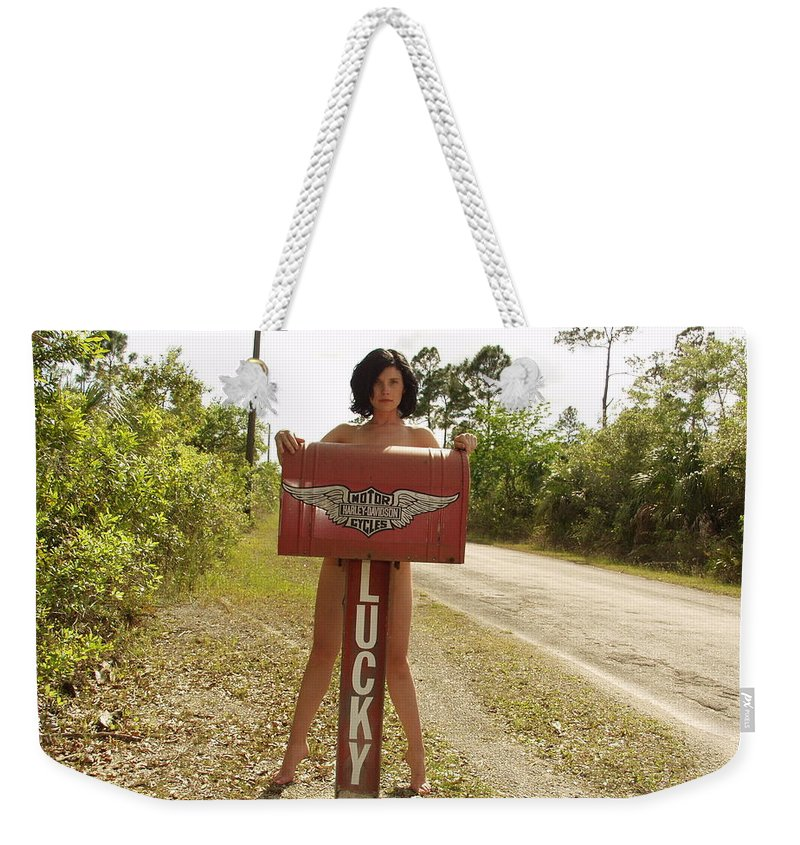 Everglades City Photography Everglades City Beauty Photography Everglades City Glamorous Photography Sexy Exotic Female Glamour Natural Natures Exotic Beauty Photography Weekender Tote Bag featuring the photograph Everglades City Photographer 432 by Lucky Cole