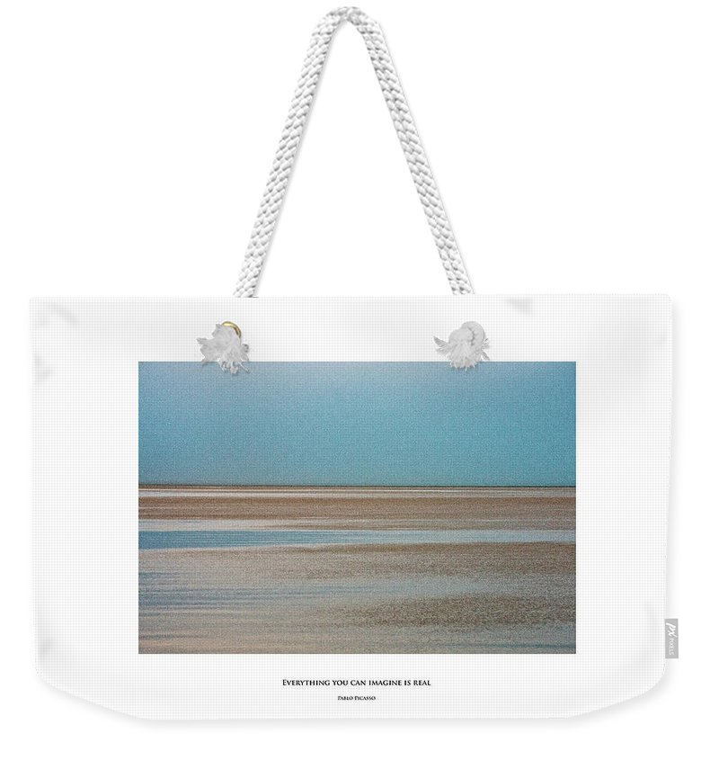 #things Not Seen Weekender Tote Bag featuring the photograph Everything You Can Imagine Is Real by Anka Wong