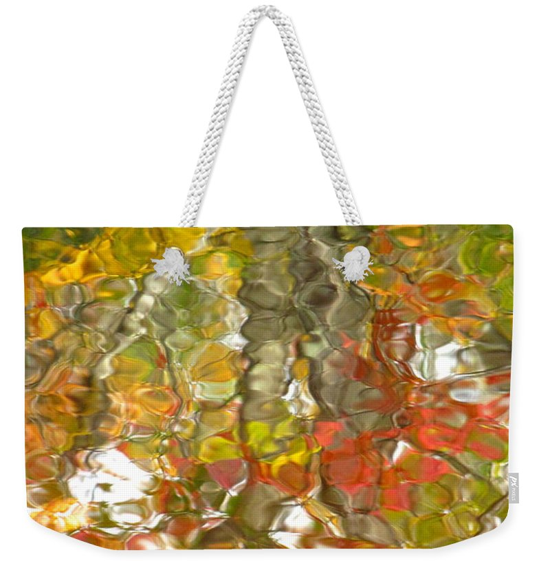 Water Art Weekender Tote Bag featuring the photograph Evidence Of Joy - Feel by Sybil Staples