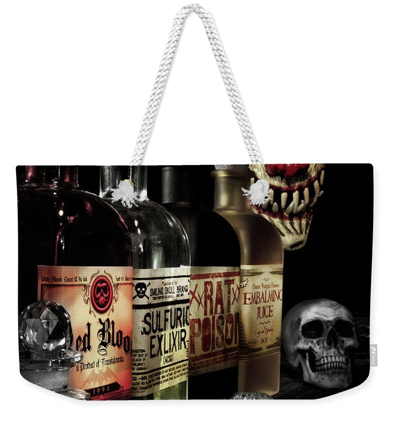 Halloween Weekender Tote Bag featuring the photograph Evil Alchemy by Tom Mc Nemar
