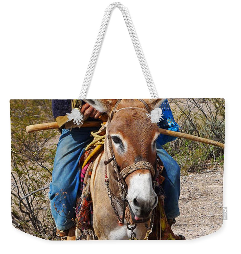 Skip Hunt Weekender Tote Bag featuring the photograph Evuli by Skip Hunt