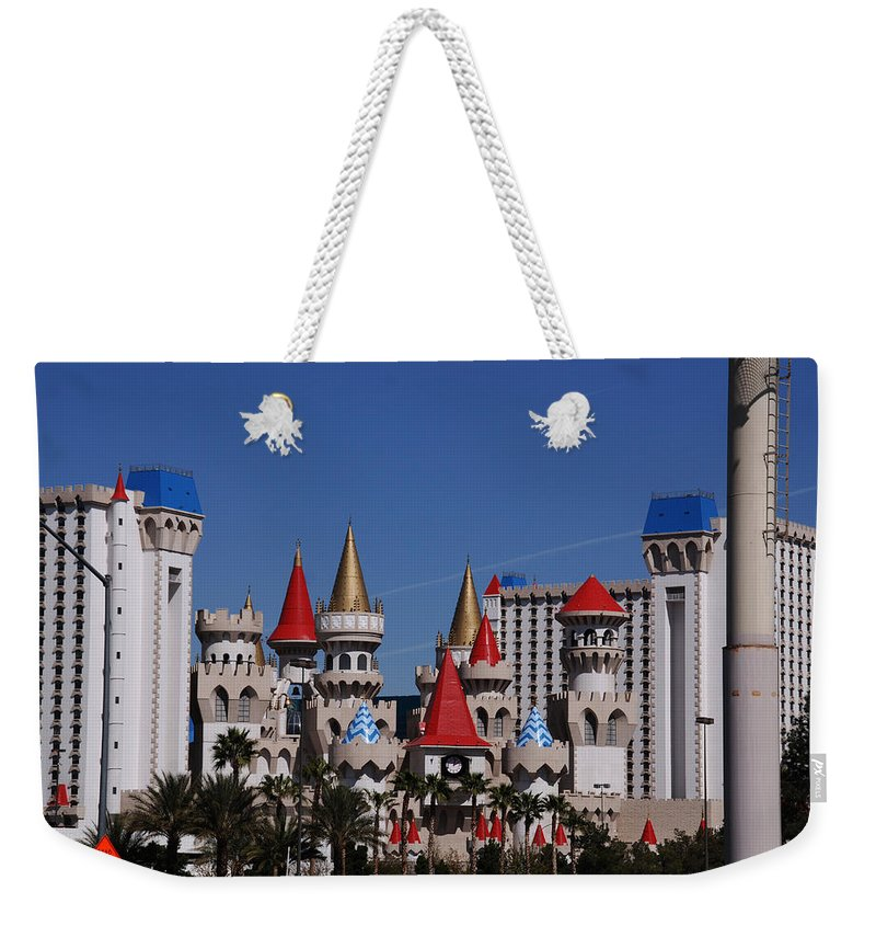 Excalibur Weekender Tote Bag featuring the photograph Excalibur by Susanne Van Hulst