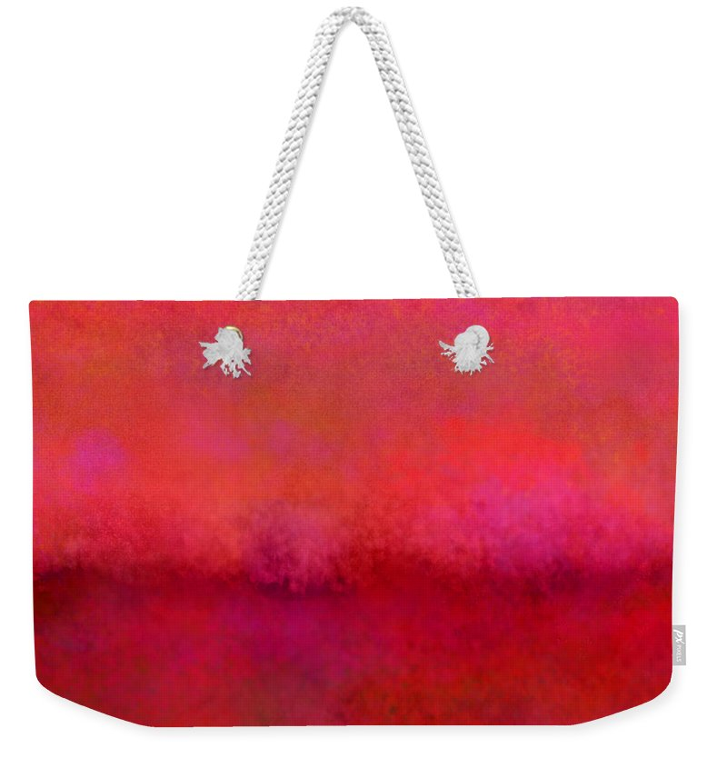 Weekender Tote Bag featuring the mixed media Exile by Da' Ood