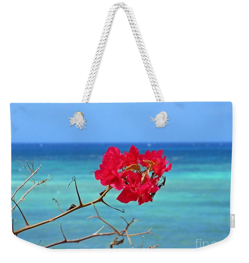 Exotic Flower Weekender Tote Bag featuring the photograph Exotic Flower by John Malone