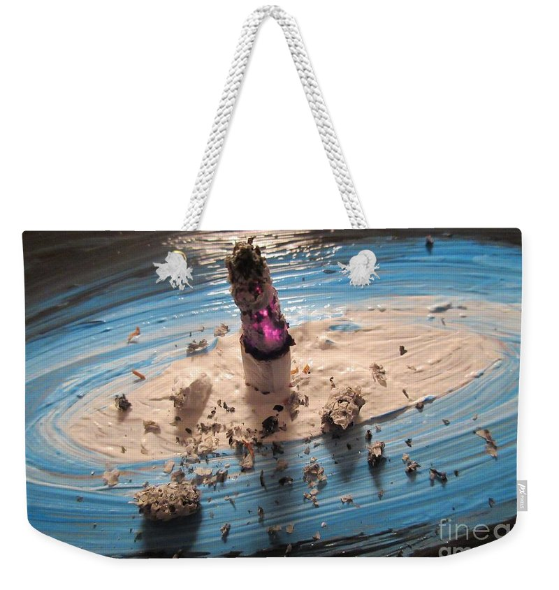 Experimental Weekender Tote Bag featuring the photograph Experimental by John Malone