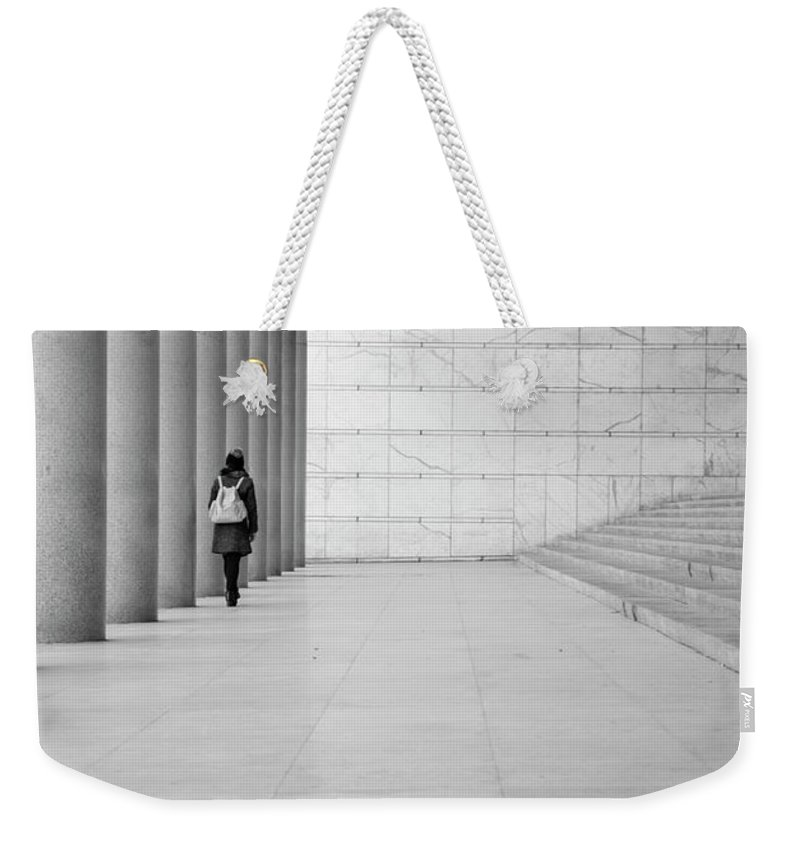 Explore Weekender Tote Bag featuring the pyrography Explore by Giorgio Puddu