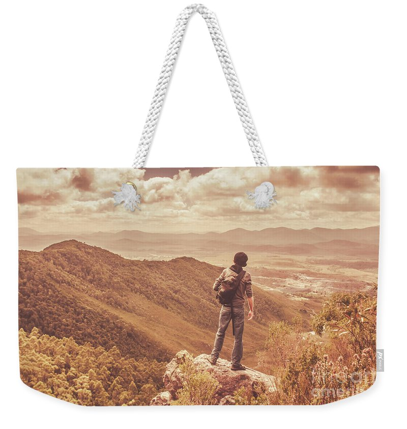 Tasmania Weekender Tote Bag featuring the photograph Exploring The Rugged West Coast Of Tasmania by Jorgo Photography - Wall Art Gallery