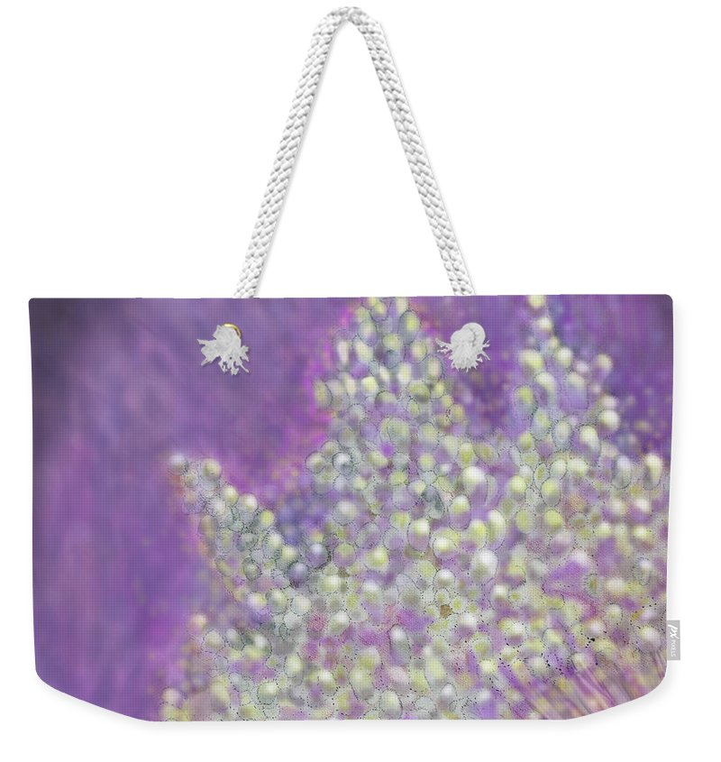 Abstract Weekender Tote Bag featuring the digital art Expodential Growth by Ian MacDonald