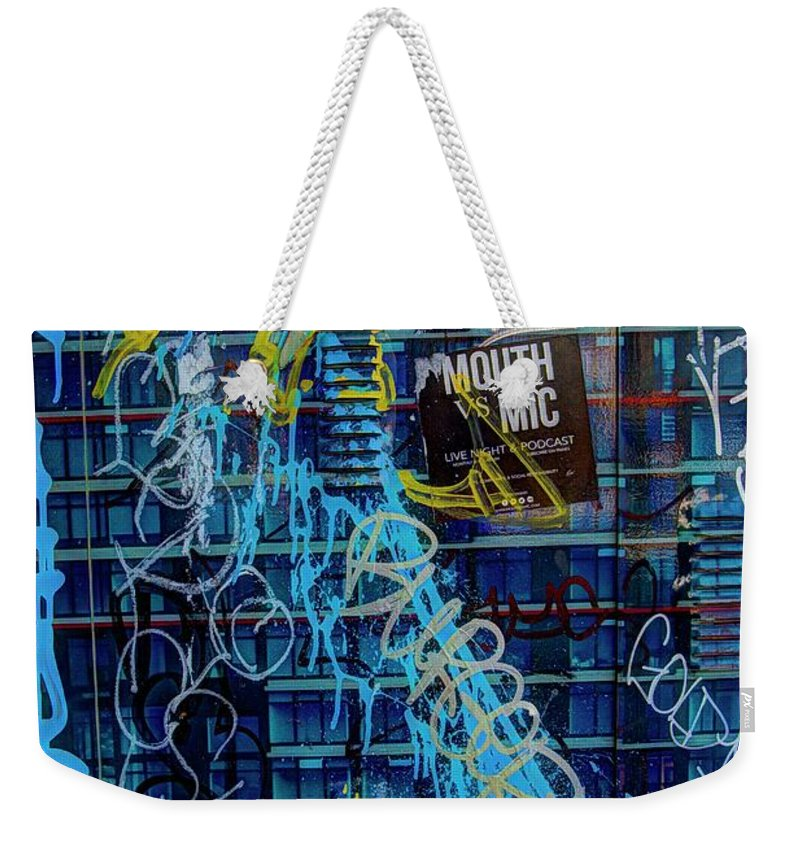 Digital Art Weekender Tote Bag featuring the photograph Expressed So by Dorothy Hilde
