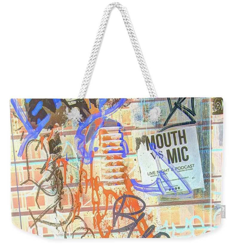 High Dynamic Range Weekender Tote Bag featuring the photograph Expressed So Inverted by Dorothy Hilde