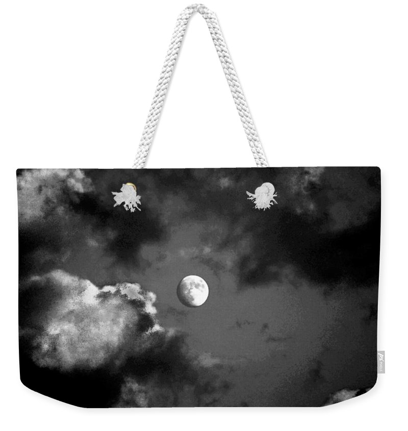 Sky Weekender Tote Bag featuring the photograph Eye In The Sky by Steve Karol
