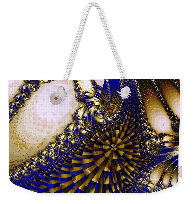 Eyes Weekender Tote Bag featuring the digital art Eyes by Ron Bissett