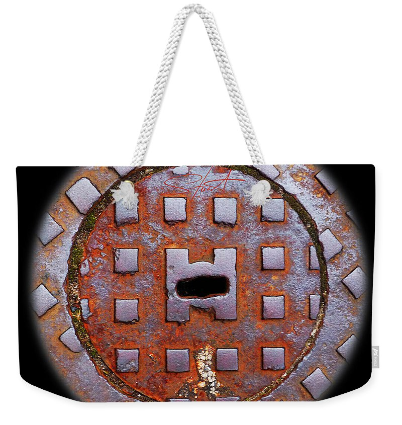 Face Weekender Tote Bag featuring the photograph Face by Charles Stuart