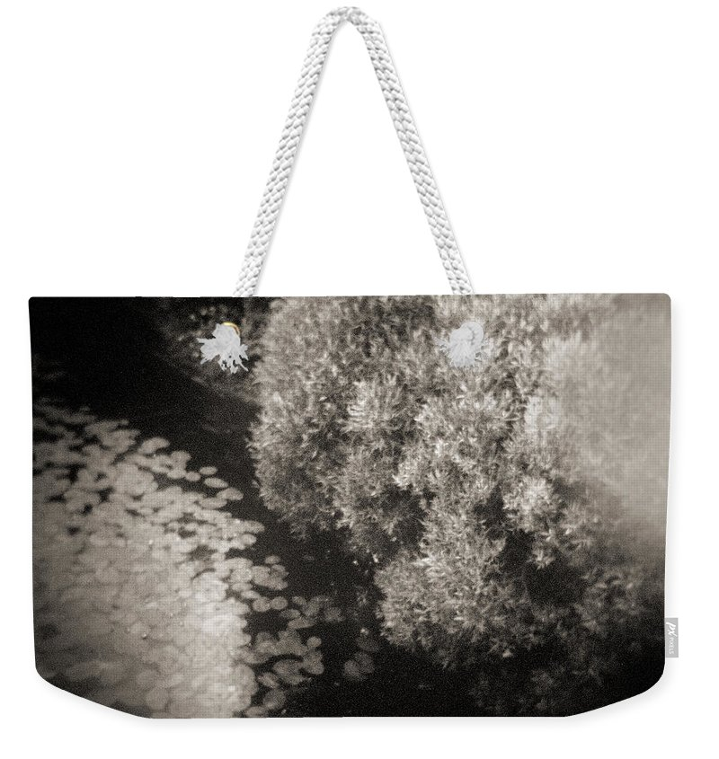 Abstract Weekender Tote Bag featuring the photograph Faces Of Time #278 by Andrey Godyaykin