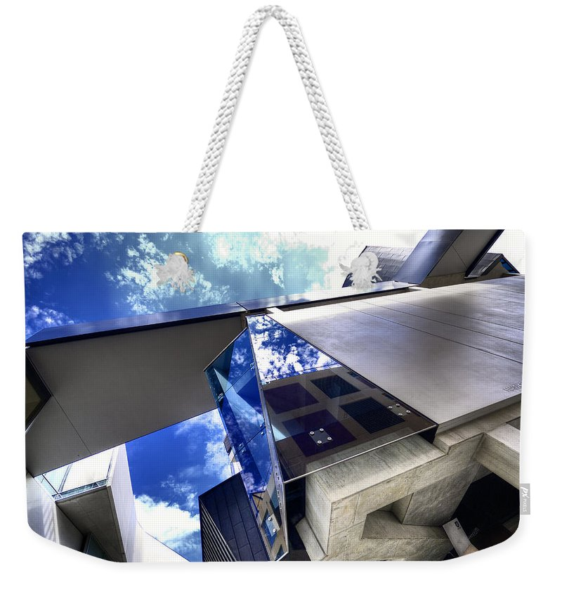 Architecture Weekender Tote Bag featuring the photograph Facetted by Wayne Sherriff
