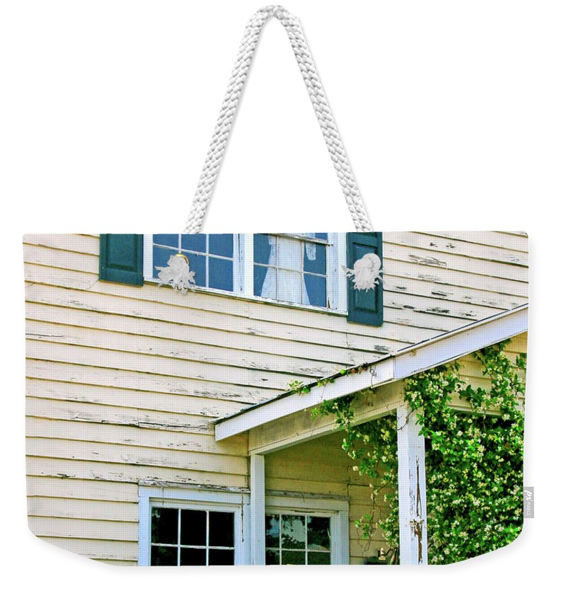 Memories Weekender Tote Bag featuring the photograph Faded Dreams by Pat Walsh