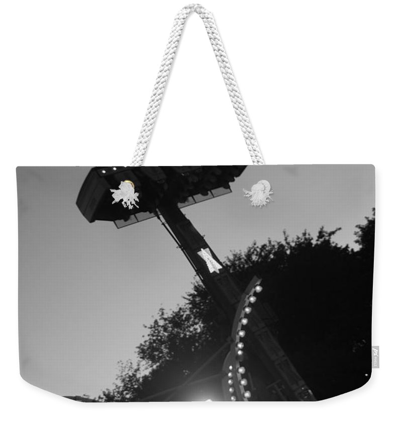 Black And White Photography Weekender Tote Bag featuring the photograph Fair Call by Trish Hale