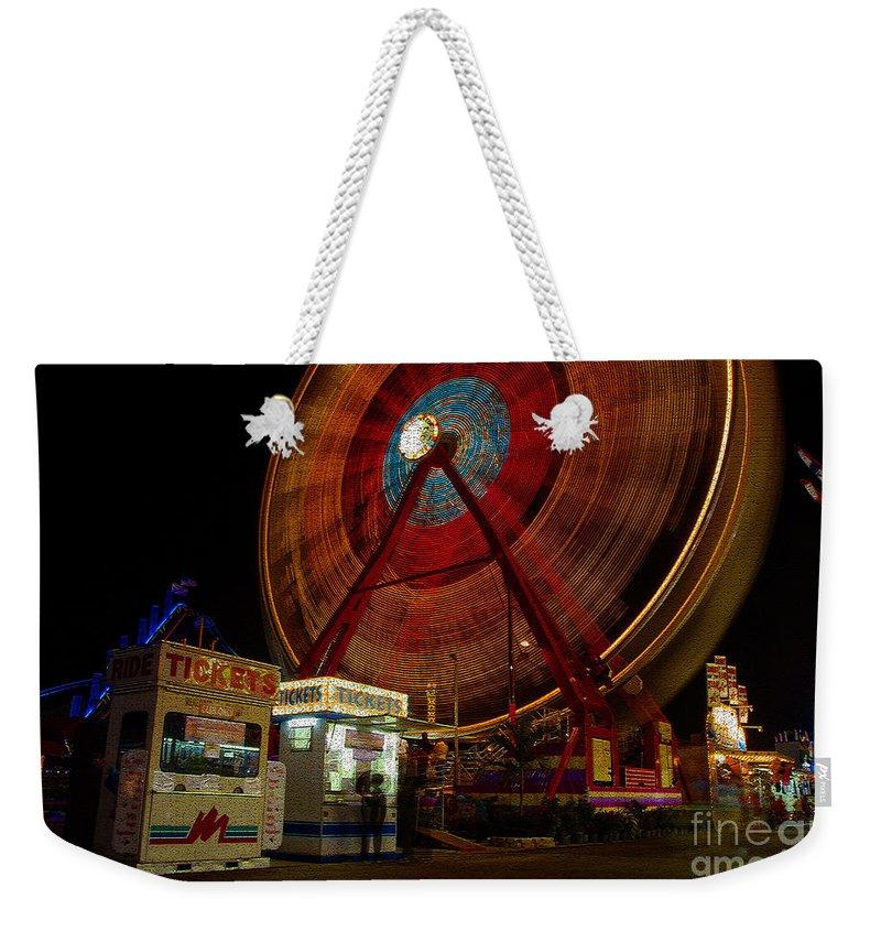 Fair Weekender Tote Bag featuring the photograph Fair Dreams by David Lee Thompson