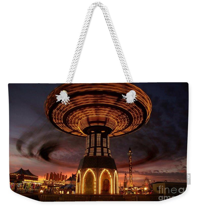 Fair Weekender Tote Bag featuring the photograph Fair Fun by David Lee Thompson