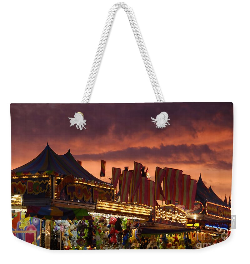 Fair Weekender Tote Bag featuring the photograph Fairsky by David Lee Thompson