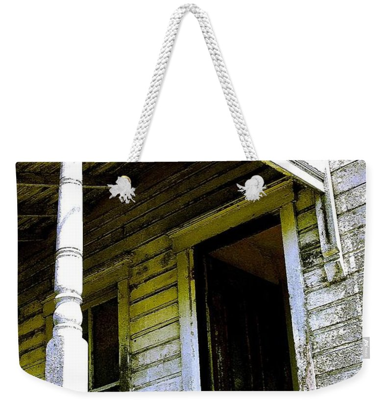 Porch Weekender Tote Bag featuring the photograph Fairview Ohio - Number 1 by Nelson Strong