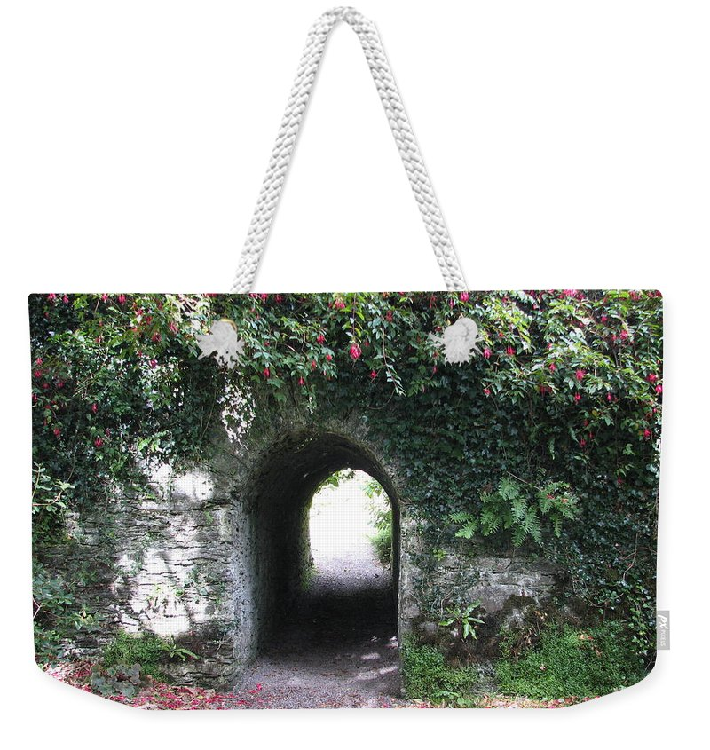Derrynane Weekender Tote Bag featuring the photograph Fairy Bridge by Kelly Mezzapelle