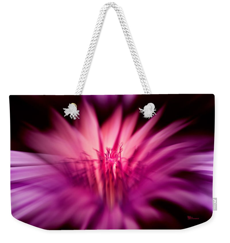 Botany Weekender Tote Bag featuring the photograph Fairy Light by Max Steinwald