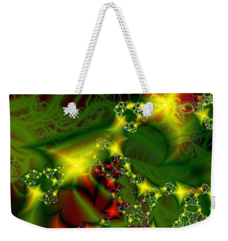 Fairies Weekender Tote Bag featuring the digital art Fairy Light by Ron Bissett