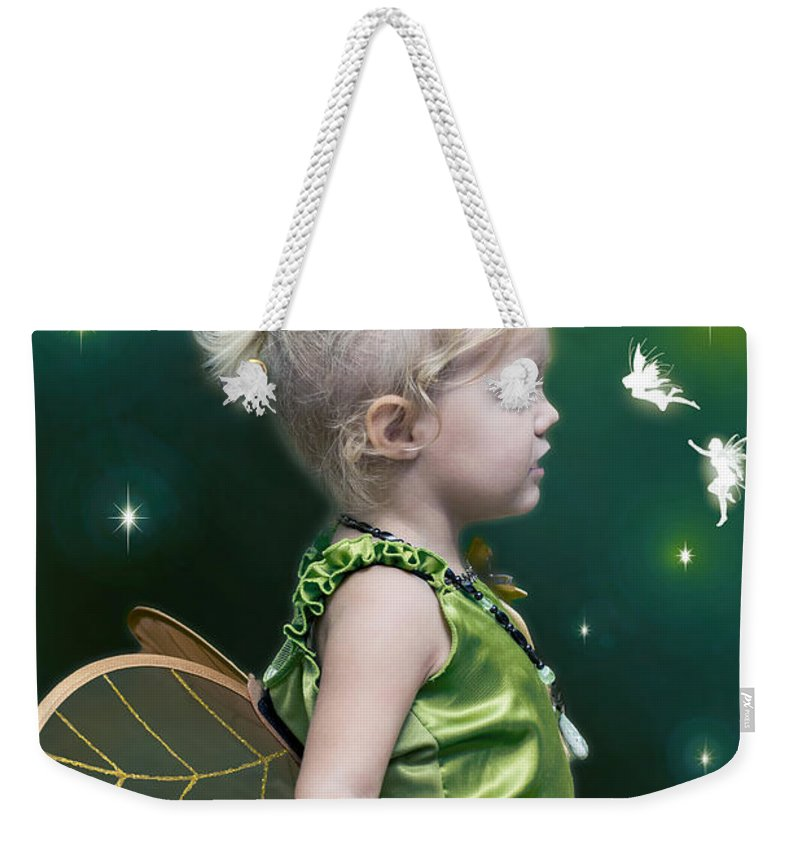 2d Weekender Tote Bag featuring the photograph Fairy Princess by Brian Wallace